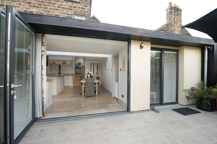Doma architects - kitchen garden - inside / outside doma architects Modern Houses