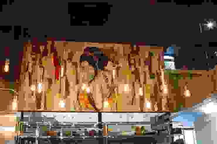 SUSHI BAR Espaços gastronômicos industriais por Gabriela Herde Arquitetura & Design Industrial