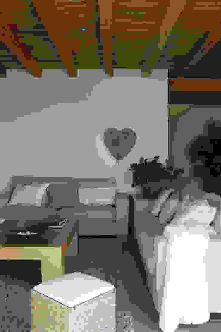 Casa Porto Saler. Formentera. 2000 Salones rústicos de estilo rústico de Deu i Deu Rústico