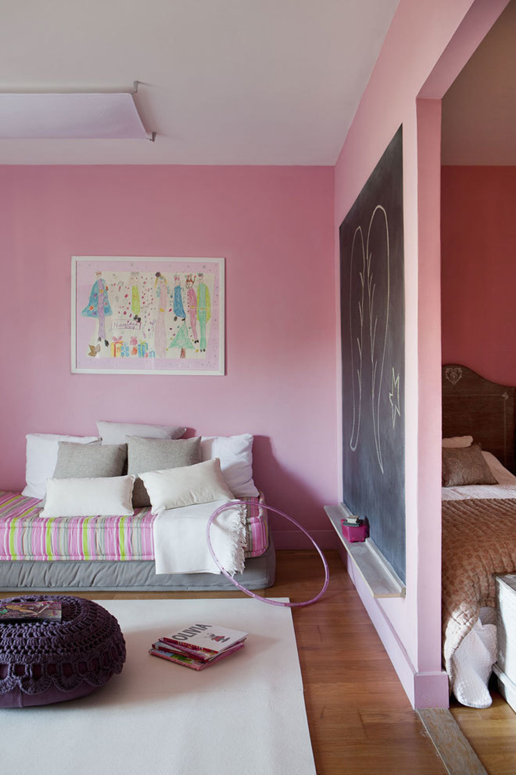 Ático en Sant Cugat. 2011 Dormitorios infantiles de estilo ecléctico de Deu i Deu Ecléctico
