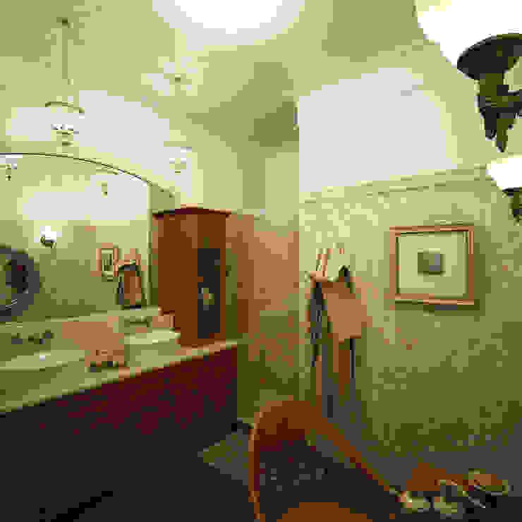 Американское влияние Ванная комната в эклектичном стиле от Format A5 Fontanka Эклектичный