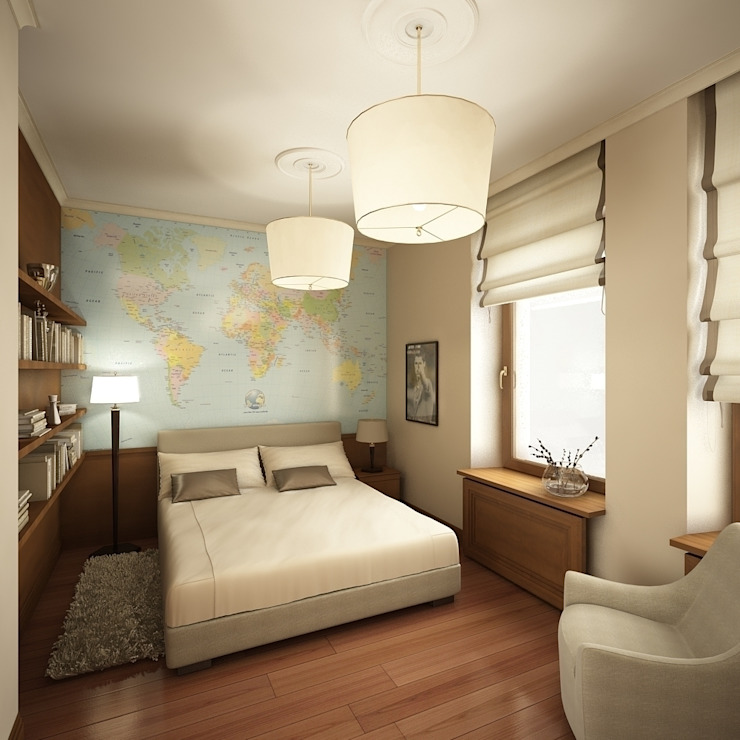 Американское влияние Детская комната в стиле модерн от Format A5 Fontanka Модерн