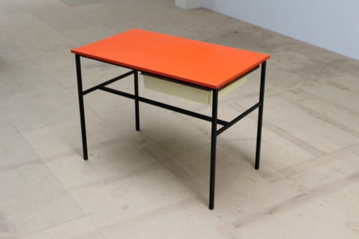 Pierre Guariche Desk od Diagonal Furniture Industrialny