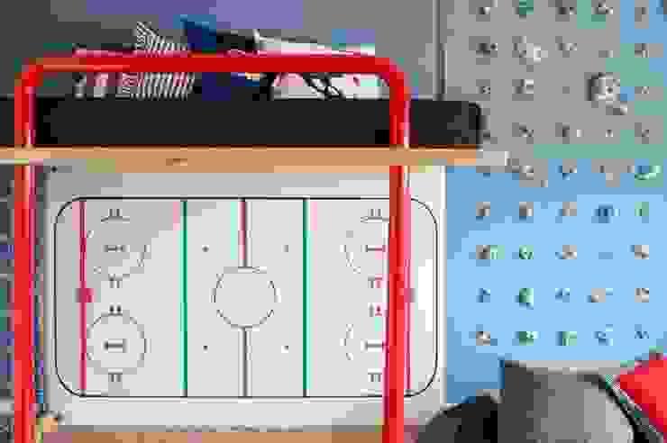 Quarto Hockey Quarto infantil moderno por Oba! Arquitetura Moderno