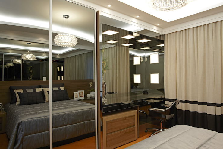 Casa da Serra Quartos modernos por Arquiteto Aquiles Nícolas Kílaris Moderno