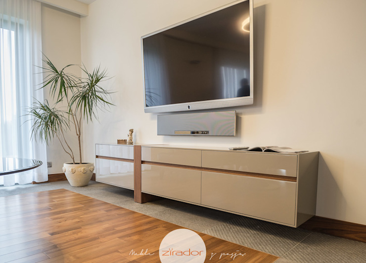 Zirador - Meble tworzone z pasją Living roomTV stands & cabinets