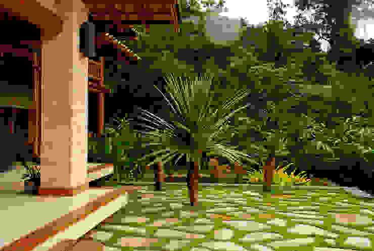 Jardines tropicales de Gil Fialho Paisagismo Tropical