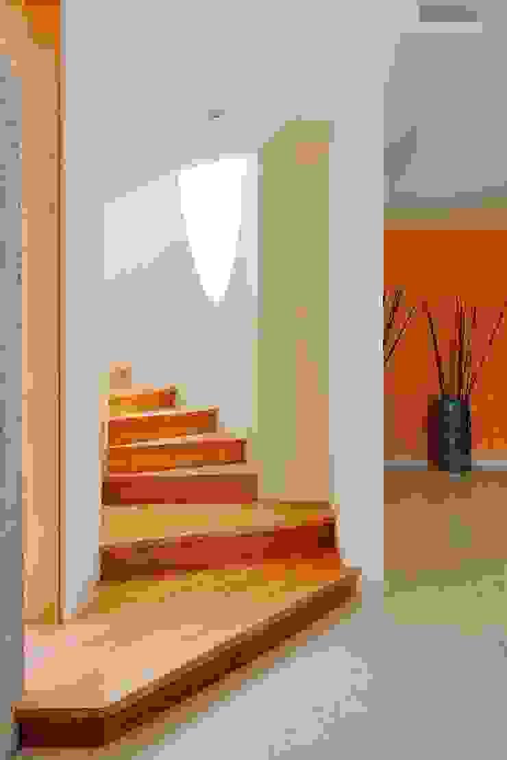 Pasillos, vestíbulos y escaleras modernos de Excelencia en Diseño Moderno