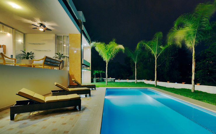 Piscinas de estilo moderno de Excelencia en Diseño Moderno