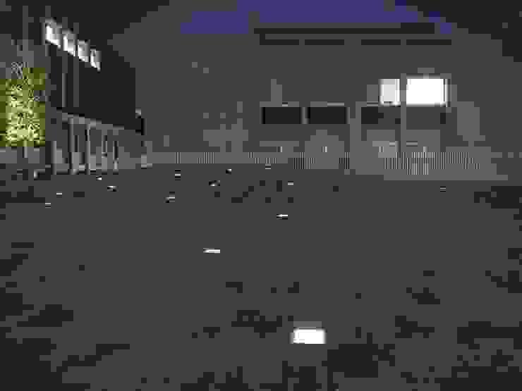 大学キャンパス内広場を演出するソーラーブリック オリジナルな学校 の TIME&GARDEN Co., LTD. オリジナル