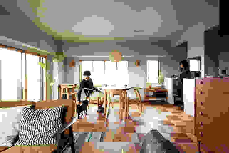 トリミングルーム 北欧デザインの ダイニング の 稲山貴則 建築設計事務所 北欧