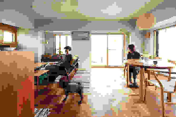 トリミングルーム 北欧デザインの リビング の 稲山貴則 建築設計事務所 北欧