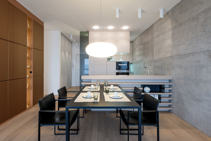Modern dining room by Johann Will GmbH Modern