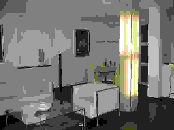 mieszkanie 02 Nowoczesny salon od ARTEFEKT Nowoczesny