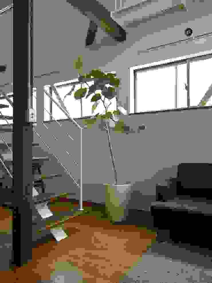 緑ヶ丘の家 北欧デザインの リビング の ai建築アトリエ 北欧