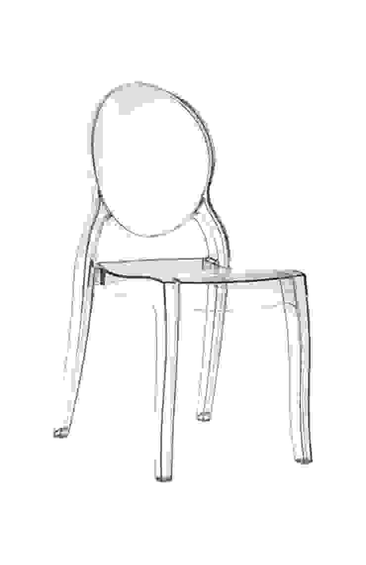 Krzesło MIA transparentne od ArchonHome.pl Nowoczesny
