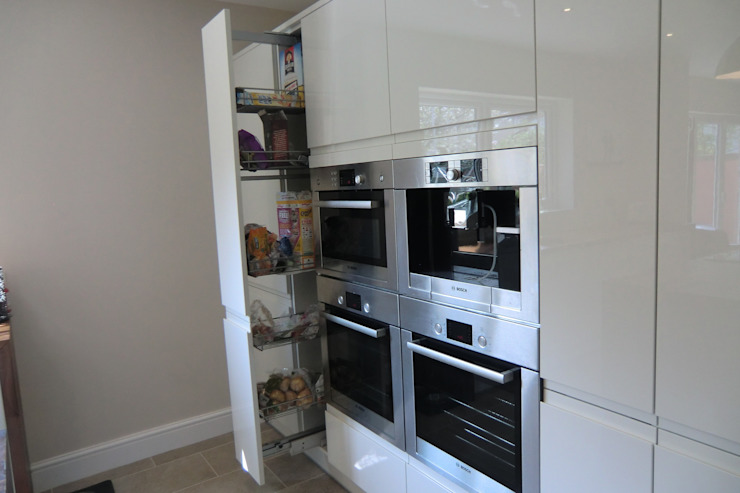Tall pull out unit & appliances Harvey's Select KitchenStorage