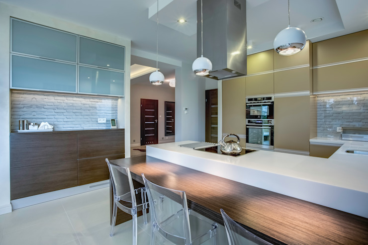 DK architektura wnętrz Cocinas modernas