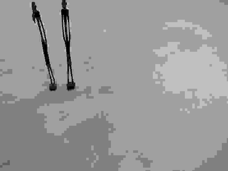 Pavimento in cemento per interno semi-lucido di Pavimento Moderno Moderno