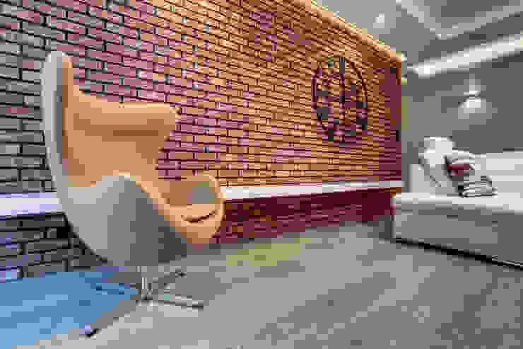 c e g ł a  w e  w n ę t r z u: styl , w kategorii Ściany i podłogi zaprojektowany przez DK architektura wnętrz,