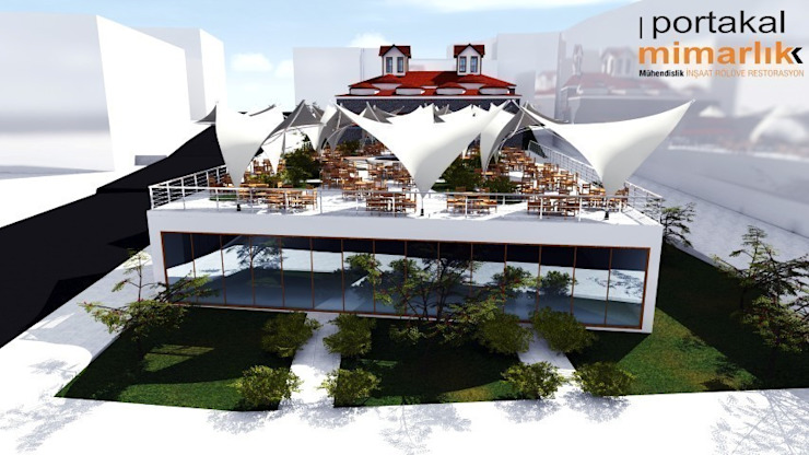 Bolu Sultan Hamamı Projesi Modern Evler Portakal mimarlik Modern