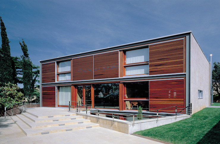Casas de estilo  por Artigas Arquitectes, Moderno