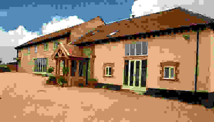 Completed Barn Conversion van Clayland Architects Landelijk