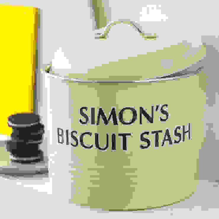 Personalised Biscuit Barrel Jonny's Sister KitchenStorage
