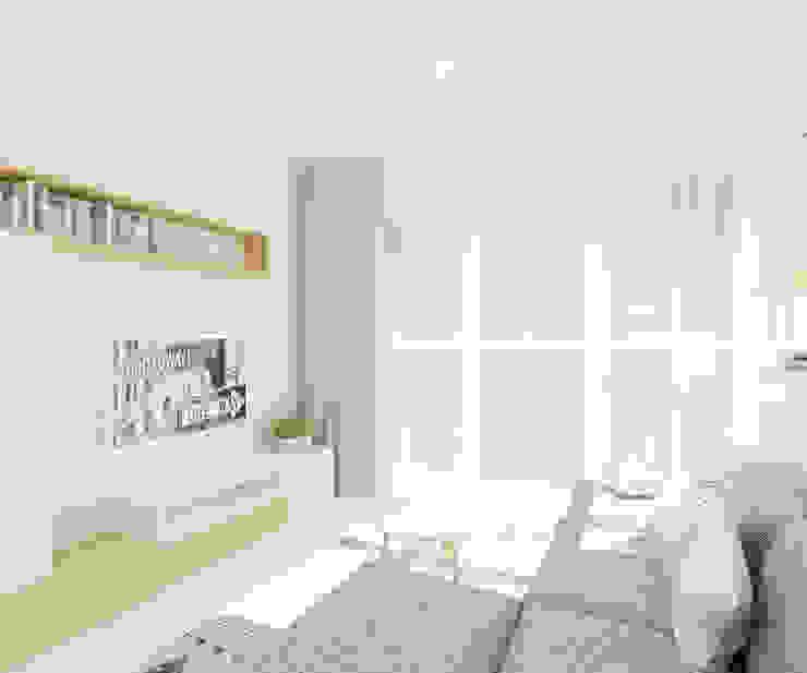 Livings de estilo escandinavo de 4ma projekt Escandinavo
