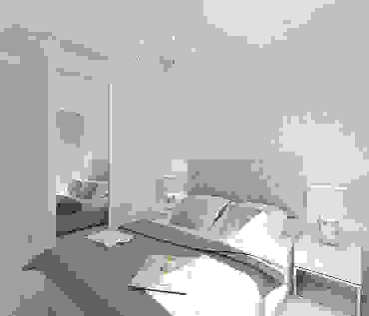 Dormitorios escandinavos de 4ma projekt Escandinavo