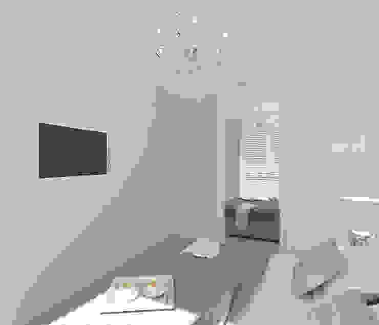 Dormitorios de estilo escandinavo de 4ma projekt Escandinavo