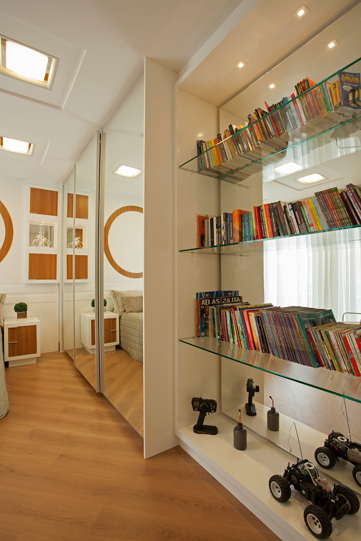 من Designer de Interiores e Paisagista Iara Kílaris حداثي
