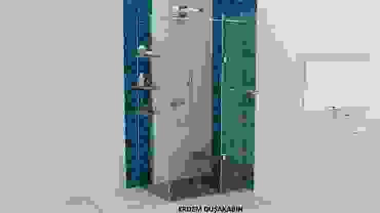 Baños de estilo moderno de Erdem Duşakabin Tasarım Atölyesi Moderno