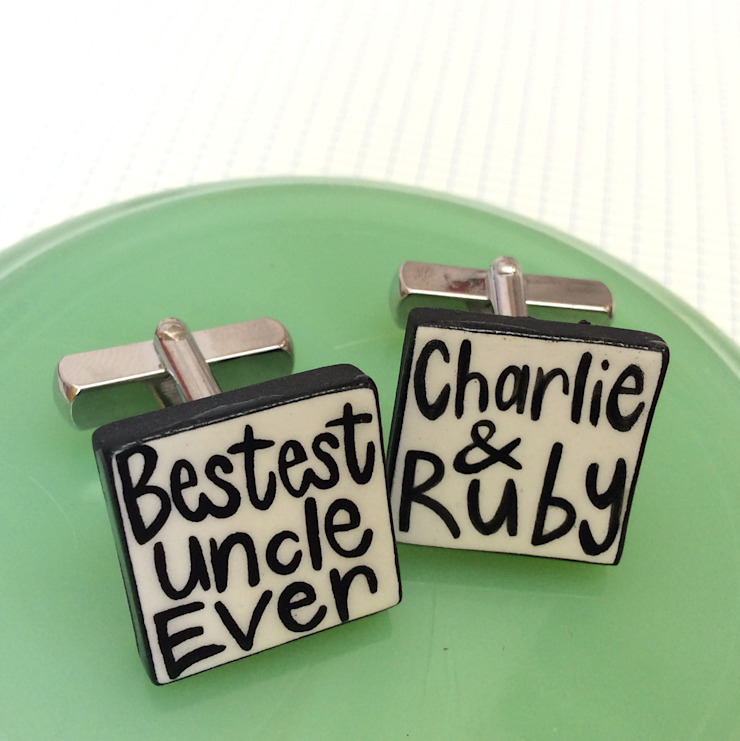 Cufflinks: classic  by Mary Fellows, Classic