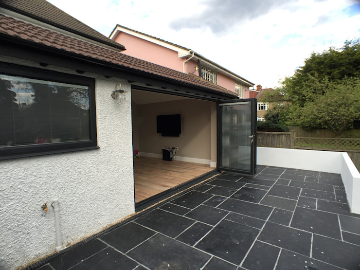 6 m rear extension design and build Modern houses by Progressive Design London Modern