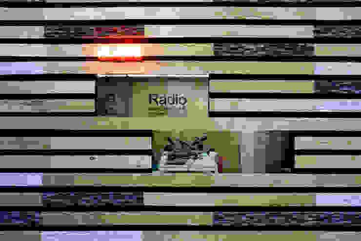 Pabellón Perdura ExpoCIHAC 2014 Centros de exposiciones de estilo moderno de Mecate Studio Moderno