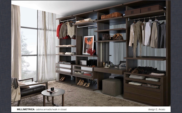 Walk-in-wardrobe Lamco Design LTD DressingArmoires et commodes