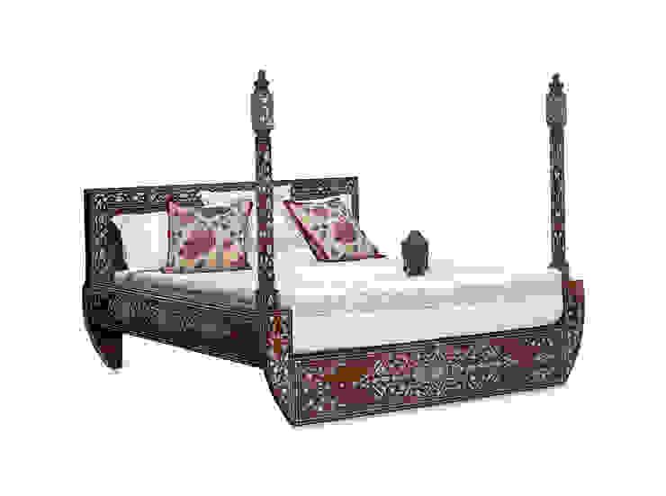 Entre dos Mundos Dormitorios de estilo asiático de El Palacio Damasceno Asiático