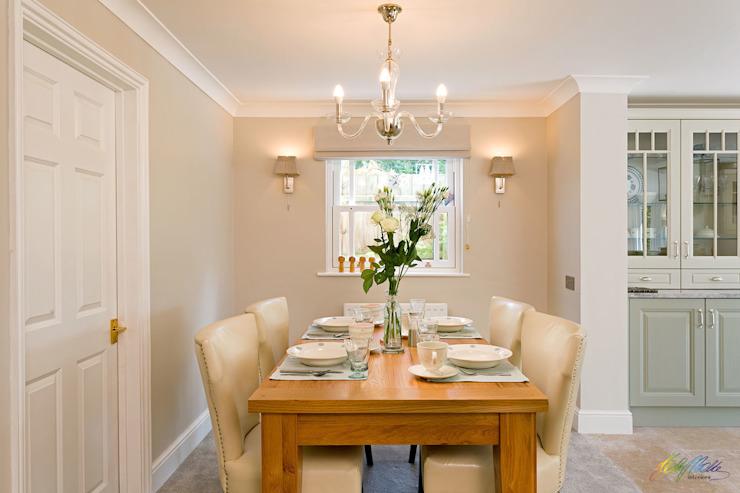 Dining Room view Classic style dining room by Katie Malik Interiors Classic