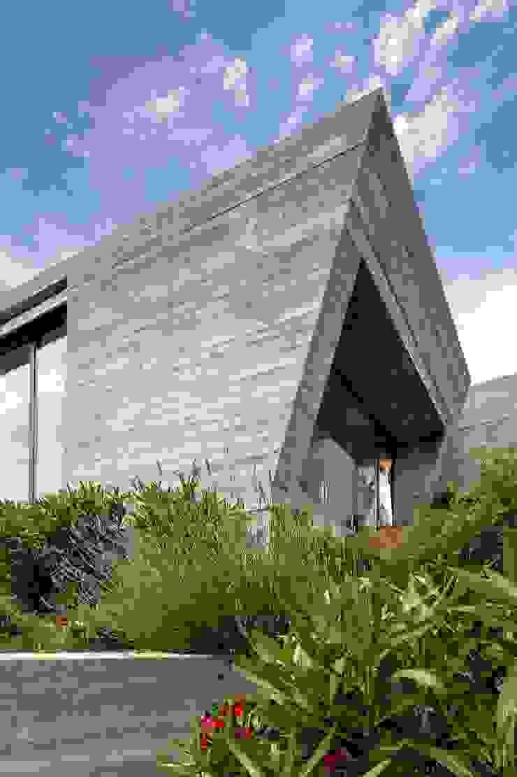 Ventanal de la suite principal. Casas de estilo moderno de VelezCarrascoArquitecto VCArq Moderno