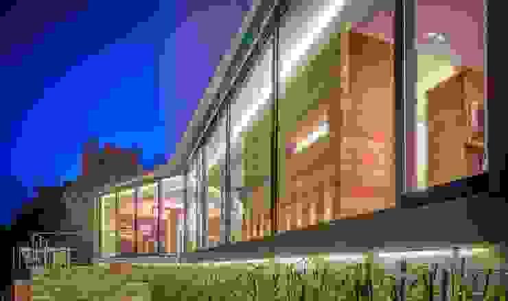 Un magnífico escenario. Casas de estilo moderno de VelezCarrascoArquitecto VCArq Moderno