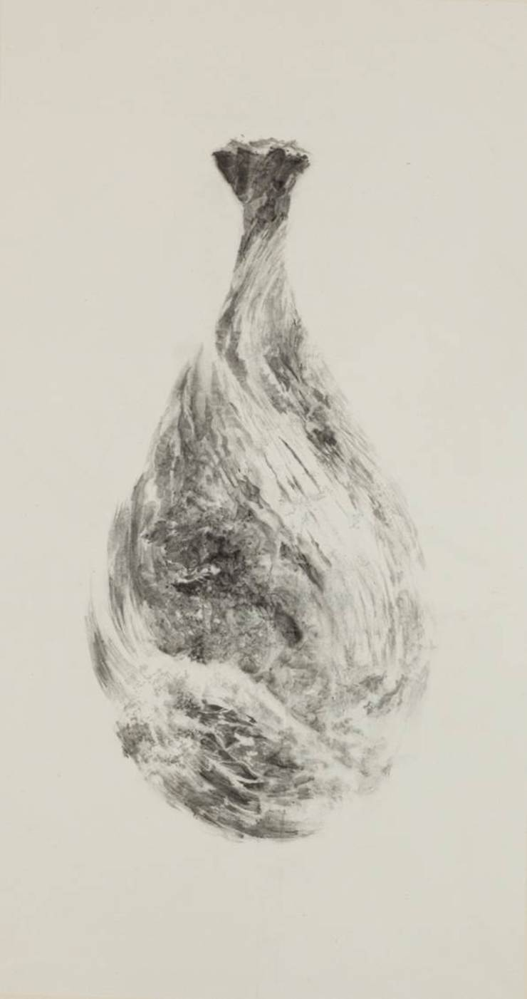 Breath of Traces, ,116x62cm, korean paper on muk, 2012 by 흔적찾기 프로젝트
