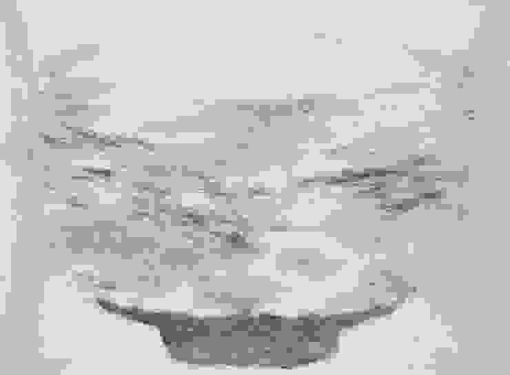 Breath of Traces, 193.9x130.3cm, korean paper on muk, 2011 by 흔적찾기 프로젝트