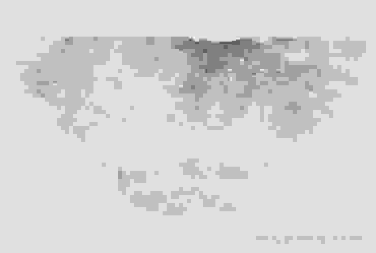 Breath of Traces, ,96x73cm, korean paper on muk, 2011 by 흔적찾기 프로젝트