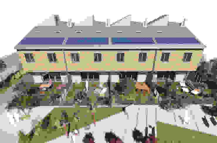Mild Homes / NZEB Social Housing - Modena Case moderne di ia2 studio associato Moderno