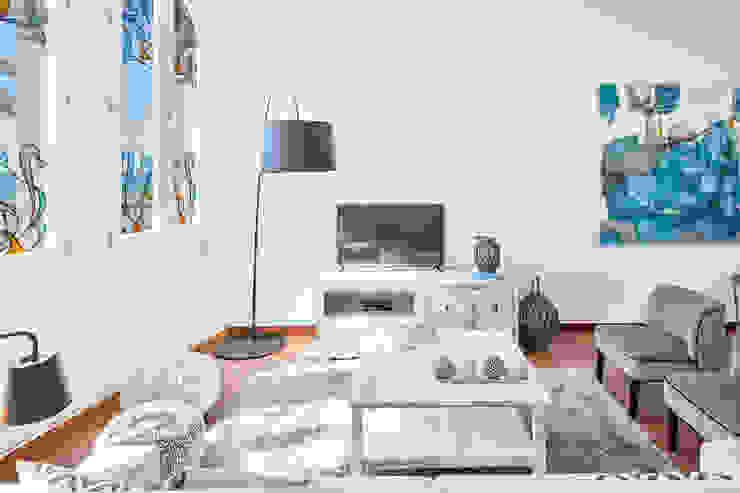 REDECORACION PISO TURISTICO EN SITGES Home Deco Decoración Comedores de estilo mediterráneo