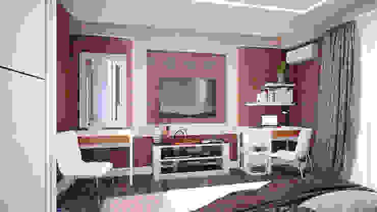 Современный стиль для спальни Спальня в стиле модерн от Студия дизайна Interior Design IDEAS Модерн