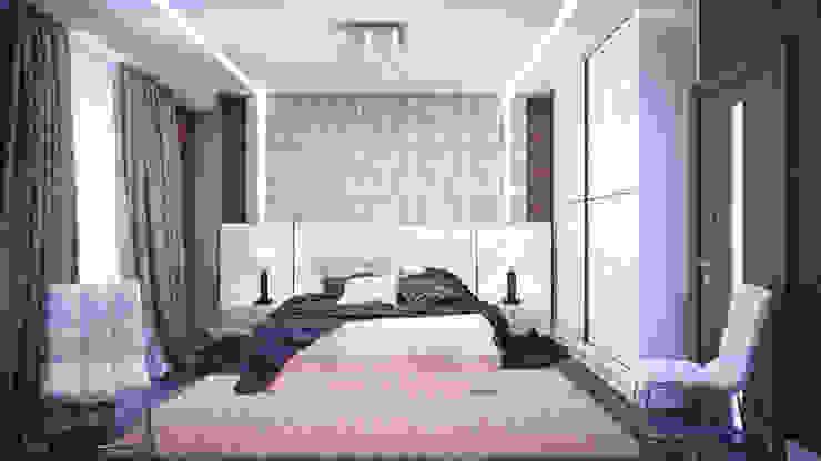 Спальня в современном стиле Спальня в стиле модерн от Студия дизайна Interior Design IDEAS Модерн
