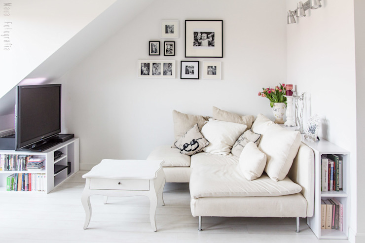 Meblościanka Studio Scandinavian style living room