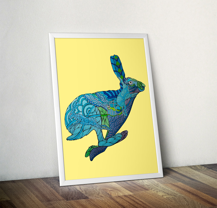 Hare by Paul Robbins Wraptious ІлюстраціїКартини та картини